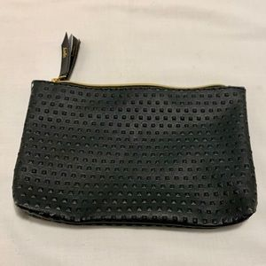 Black ipsy makeup bag